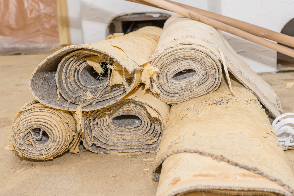 Can Old Carpet Be Toxic